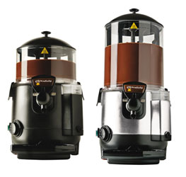 Commercial hot chocolate machine