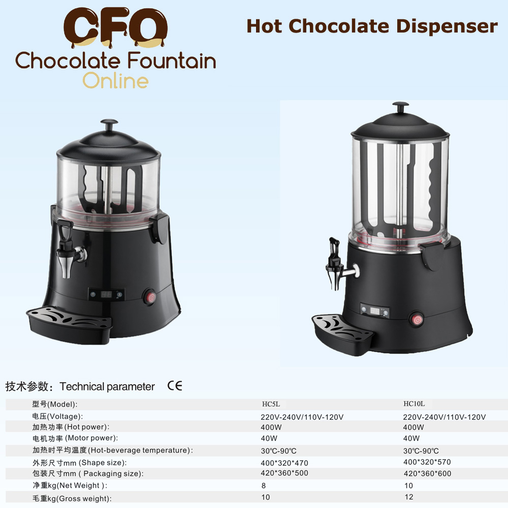 hot chocolate dispensers