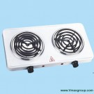 Double Burner Electric Stove