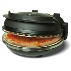 pizza oven black