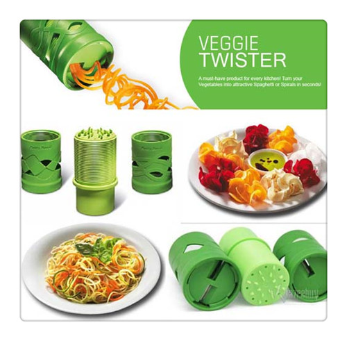 Betty Bossi Vegetable Twister Instructions