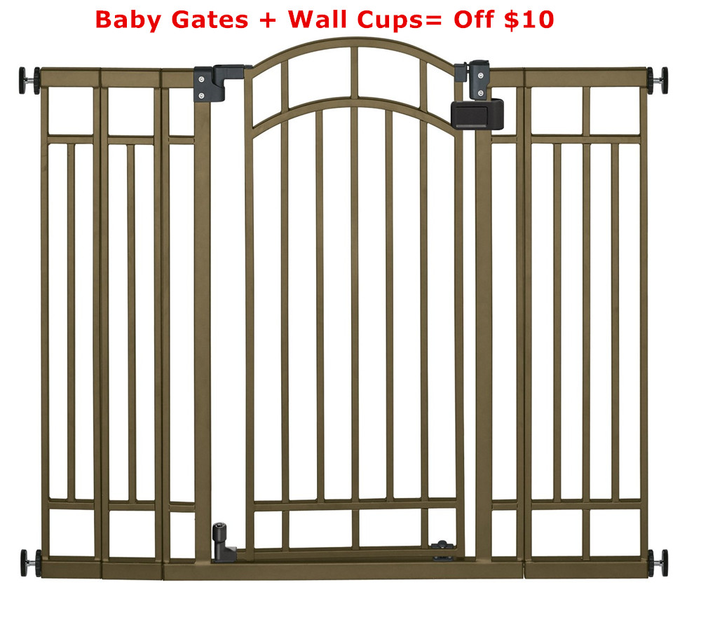 Wall Saver For Pressure Gates 2 Pack Protects Stairs